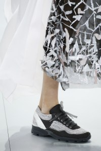 Chanel  Karl Lagerfeld SS 2014 - trainers