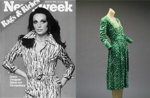 Haute Couture Mind - Fashion Book - Diane von Furstenberg - Wrap dress