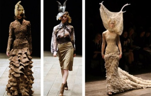 Haute Couture Mind - Using Fashion - Alexander McQueen - Highland Rape