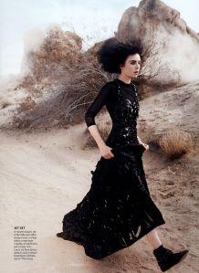 American Gothic Grace Coddington David Sims Edie Campbell Louis Vuitton