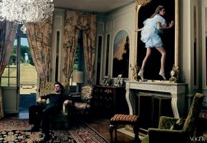 Balenciaga - Nicolas Ghesquiere - Haute Couture Mind - Fashion Book - Dec 2003 - Annie Leibovitz