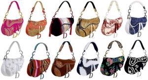 John Galliano - Dior - saddle bag