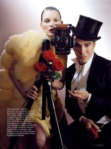 John Galliano - Kate Moss - Vogue UK