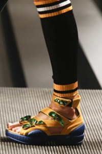 Prada - flat sandals - Spring 2014